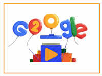 Google 20th birthday: Doodle celebrates two decades of the internet giant
