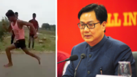 Kiren Rijiju offers to put MP youth in athletic academy who ran 100m in just 11 seconds