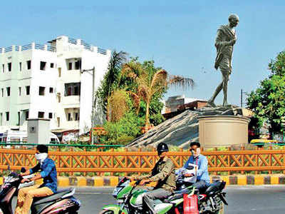 Revealed! First look of Gandhi statue to be set up at Dandi Chowk