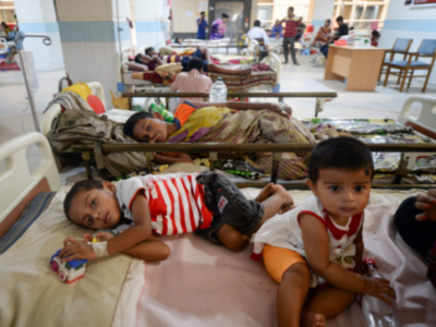 More children falling sick