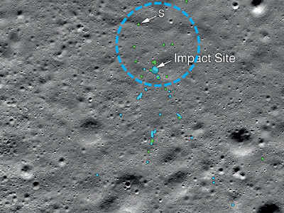 Chennai techie helps NASA find Vikram debris on moon