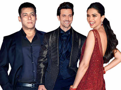 Breaking bread with Salman Khan, Deepika Padukone, Hrithik Roshan