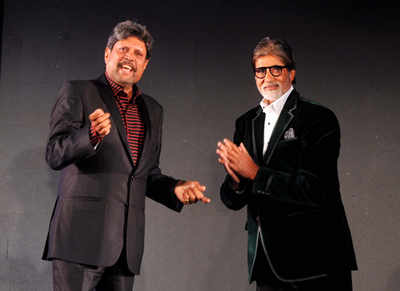 Kapil Dev admires Amitabh Bachchan's discipline, dedication