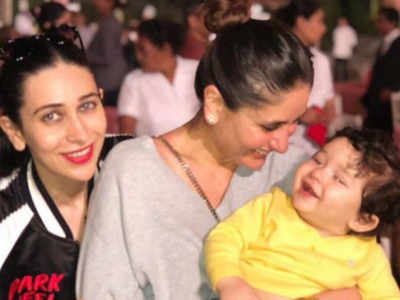 Aunt Karisma Kapoor shares an adorable post on chote nawab's birthday