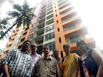 Mumbai: 10 illegal floors leave residents homeless