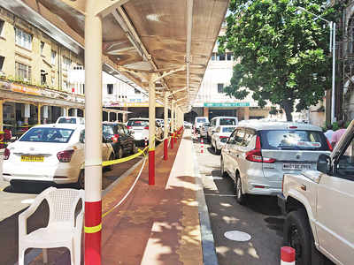 CR reopens parking spaces outside stations