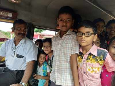 Karnataka teacher turns driver to keep the school running