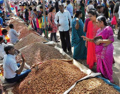Bengaluru going nuts over peanuts