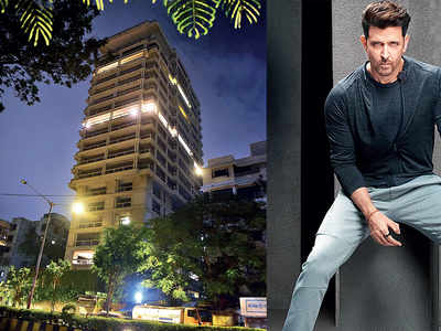 Hrithik Roshan buys two apartments spread over 38,000 sq.ft on Juhu-Versova Link Road, pays Rs 97.50 crore