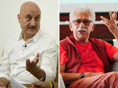 Watch: Anupam Kher hits out at Naseeruddin Shah, says, 'I don't take your statements seriously'