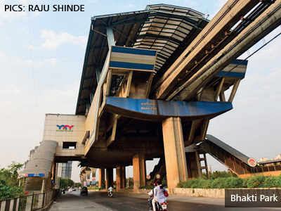 'Monorail stations built on four roads without BMC nod'
