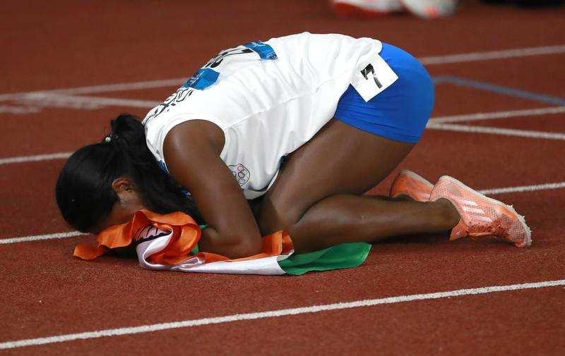 No hurdle was big enough for Swapna