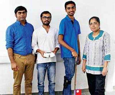IIT-Gn students innovate med devices for public use, apply for patents