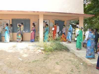 Despite COVID-19 pandemic, Telangana's Dubbak registers 82.61 per cent voter turnout