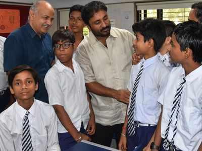 Anand Kumar visits Delhi school for Happiness Utsav; govt declares Super 30 tax-free