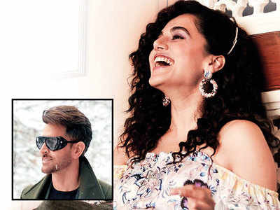 Candy crush for Taapsee Pannu and Hrithik Roshan