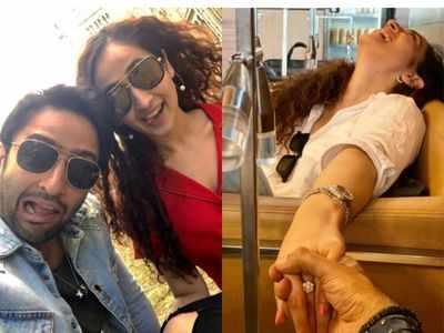Shaheer Sheikh gets engaged to girlfriend Ruchikaa Kapoor