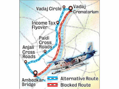 Amdavadis, be ready for traffic diversion