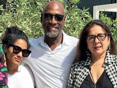 When Masaba and Neena Gupta surprised Sir Viv Richards on his birthday