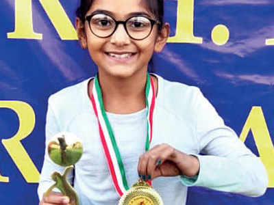 Pia wins under-12 title