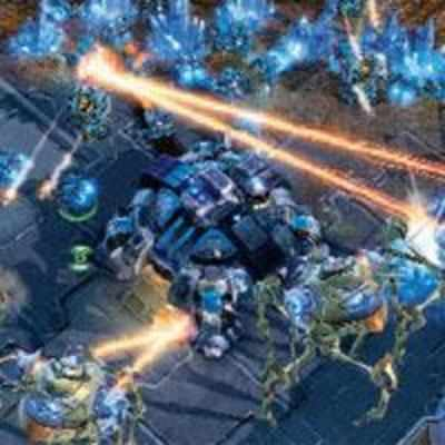 Twelve years after the original, StarCraft II gets its game
