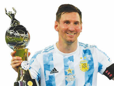 Messi is fi fth-time lucky as Argentina win Copa America