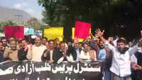 Journalists in PoK protest against attack on reporters by security forces