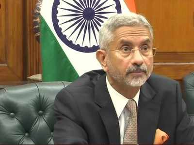 External Affairs Minister S Jaishankar attends trilateral meet with Chinese and Russian counterparts