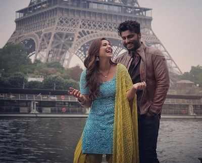 Namaste England stars Arjun Kapoor and Parineeti Chopra banter on social media