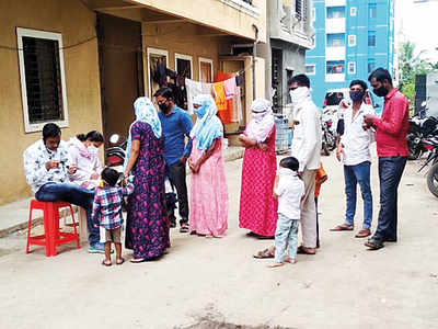State initiative falters in Wagholi, over 60% residents unscreened