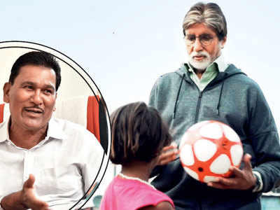 Amitabh Bachchan takes to the field for a character inspired by Vijay Barse in Jhund