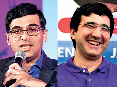 Anand, Kramnik to collaborate for India in 6 Nations Cup