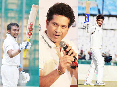 Prithvi Shaw and Shubman Gill have a lot of potential, they should enjoy their cricket: Sachin Tendulkar
