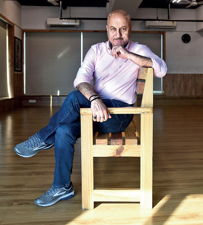 Anupam Kher on being an Indian actor working abroad, and on essaying his most challenging role yet