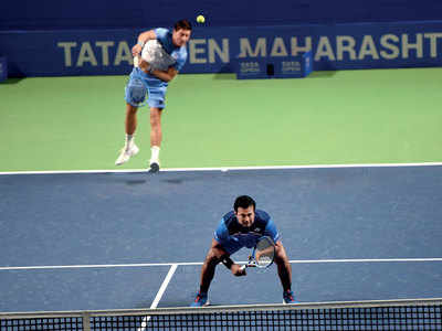 Leander Paes and Australian partner served out in Quarter Finals at Pune