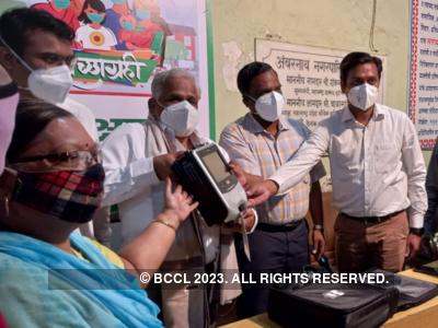 Ambernath: Man uses entire pension fund to donate ventilator