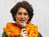 Priyanka Gandhi Vadra continues UP campaign trail, entry into temple questioned