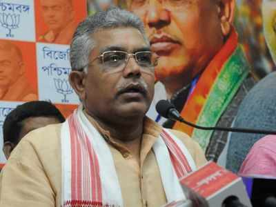 West Bengal BJP chief Dilip Ghosh allegedly heckled by TMC workers during 'Chai pe Charcha'