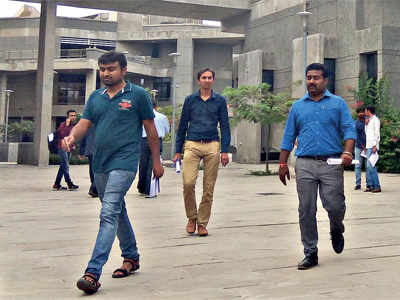 At IIT-Gandhinagar... Two 'early birds' have cake, eat it too