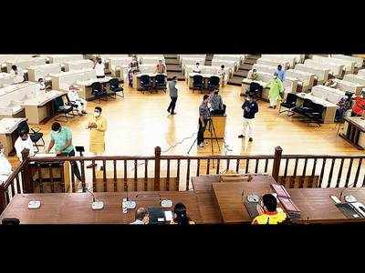 24 corporators go to PMC to attend online GB meeting