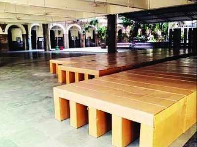 1,200 Covid-19 beds readied in St Xavier's College, Mehboob Studios in Bandra