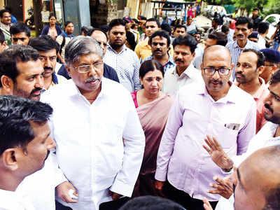 BJP's Chandrakant Patil faces revolt at Kothrud constituency