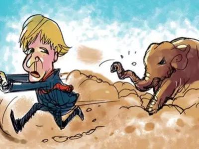 When Boris Johnson survived a jumbo scare in Kerala