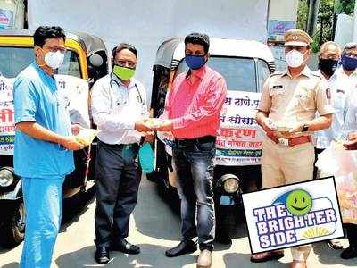 Auto drivers come forward for a noble cause