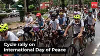 Students celebrate Int'l Day of Peace, supporting girls' rights in Afghanistan
