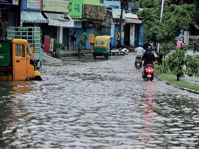 Rain washes away crores spent on flood measures