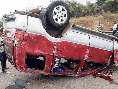 Accident on old Mumbai-Pune highway, 1 dead