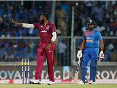 India Vs West Indies 2nd T20I: Windies win toss, opt to bowl