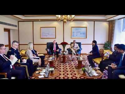 External Affairs Minister S Jaishankar holds talks with US Deputy Secretary of State John Sullivan