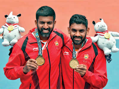 Asian Games 2018: Rohan Bopanna, Divij Sharan win gold in tennis doubles